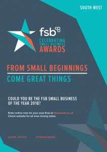 FSB 964 Awards A5 Flyer - South West-1